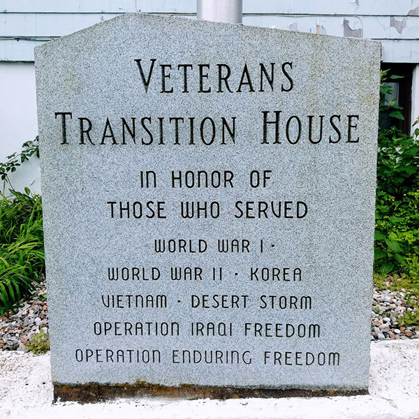 Veterans Transition House Monument